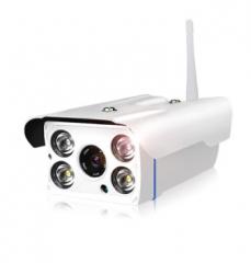双向语音室外防水摄像头无线WIFI夜视监控器 1080P高清网络摄像
