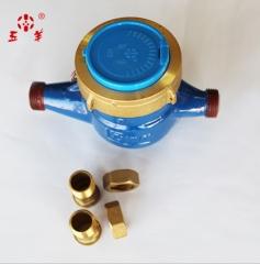 厂家直供4分国标滴水水表 出租屋工程采购丝扣高灵敏水表机械水表