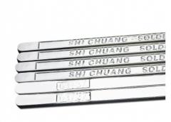 厂家直销 Sn63/37电解焊锡条低温锡条高纯度波峰焊锡条有铅锡条