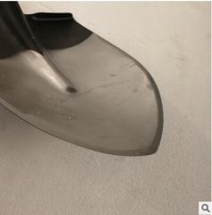 加厚开刃锰钢合金全钢淬火锹 四面开刃新型钢锹多次抛光不易粘泥
