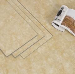 厂家直销SPC石塑防水防火锁扣地板欧式新款耐磨防滑石塑锁扣地板 JS-01