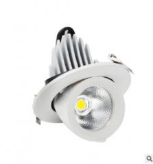 筒灯嵌入式led家用客厅过道孔灯12W射灯7.5开孔桶洞灯LED天花灯具
