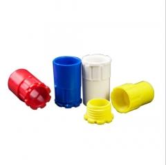 PVC16 20穿线管彩色杯梳 16 20电线管锁扣 红 蓝锁母一包特价包邮