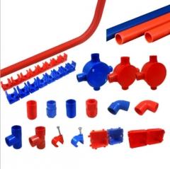 塑料接头直通 PVC给水管定做直接 直径25mmPVC电线管立体直通