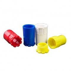 PVC线管锁扣 杯梳 锁母 螺接 16 20 25 32 加厚款 彩色 红蓝白黄
