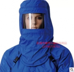 LC-Z08低温防护面罩 防液氮操作防冻干冰防寒LNG加气站头套