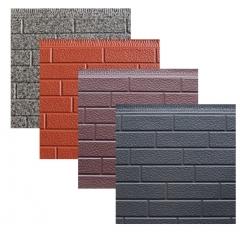内墙外墙保温装饰集成墙板 电梯井口改造金属雕花板 墙面装饰板 16mm*383mm*4m