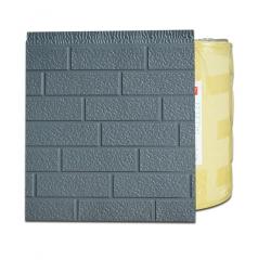 厂家批发防砖纹电梯井口改造保温装饰一体板岗亭外墙金属雕花板 4000mm*383mm*16mm