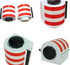 磁吸式警示带安全工具柜配电柜专用自动伸缩隔离带反光磁铁警示带