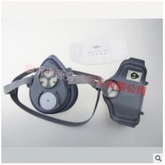 瑞诺V6RN-9001硅胶防颗粒呼吸器工业劳保防尘口罩粉尘打磨防风沙