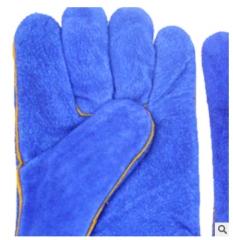 直销电焊手套A级牛皮焊工劳保手套耐磨耐用焊接工作隔热耐温手套
