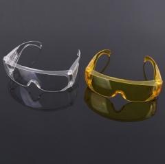 自产自销出口百叶窗防尘防风护目镜 防飞溅眼镜劳保眼镜生产