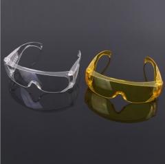透明百叶窗防风眼镜防护透明劳保防护镜 防飞溅安全眼镜