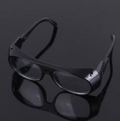 【厂家直销】电焊眼镜 黑色玻璃眼镜防护眼镜防冲击 玻璃镜片眼镜