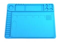 二合一维修隔热垫 螺丝五金零件工具维修硅胶垫主板设备维修垫
