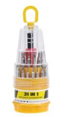 螺丝刀31合宝塔型多功能组合手机维修工具套装精密起子五金工具