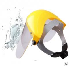 镇江双利安全帽特供防飞溅面罩 头戴式多功能型普通面罩 厂家直销