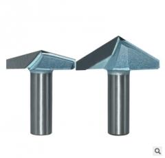 浪潮工业级V型刀120° 150° 拆边修边机刀头铝塑板开槽集成墙面