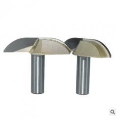 浪潮木工刀具 专业级月牙刀 橱柜刀 门板刀类 木工锣铣刀 花样刀