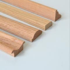厂家直销天然实木线条装饰木线条定制木质门套线实木窗套线条