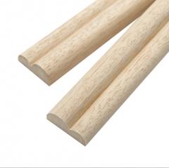 厂家直销白木装饰线条木质门套线条定制水曲柳装饰腰线实木窗套线
