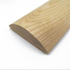 厂家直销天然实木线条榉木半圆线定制水曲柳半圆装饰门套窗套线条