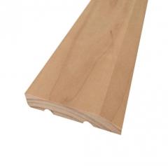 工厂直销实木踢脚线木质装饰线条定制批发实木装饰地脚线条