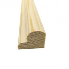 厂家直销松木装饰线条木质半圆封边线定制木质装饰腰线实木装饰线