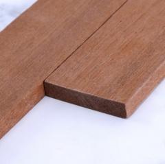 工厂直销沙比利平板线条装饰平板线定制实木装饰平板顶线木质线条