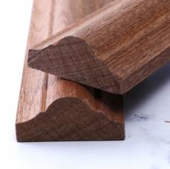 沙比利装饰指甲线实木装饰门套线定制木质指甲线条批发实木线条