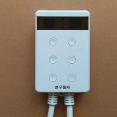 批发电热板电热膜用温控器  可控硅定时双控静音温控器