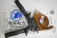 正品长信电缆钢绞线棘轮式电缆剪刀断线剪线缆剪断线钳剪