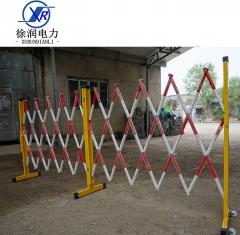 电力施工4米护栏绝缘玻璃钢安全围栏支架围网围旗警示带防护围栏