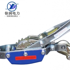 电力钢管式双钩手动双钩紧线器