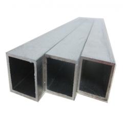 铝方管 6061 6063铝方管 表面氧化铝合金方管 买一支也不贵