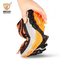 SAICOU/赛固夏季新款劳保鞋钢包头防砸透气防臭安全工作鞋运动鞋