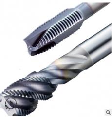 日本osg螺旋槽丝锥A-TAP硬质合金内冷油孔丝锥铸铁加工A-CSF丝锥