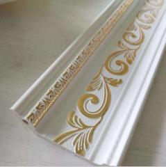 pvc欧式顶角线 天花吊顶专用6公分压花系列厂家专业生产批发现货