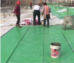 现货供应 强力交叉层压膜自粘防水卷材 高分子防水卷材屋面地下室