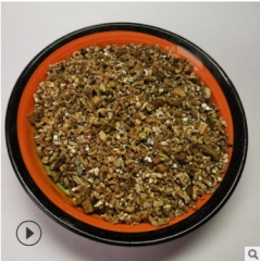 厂家现货供应 膨胀蛭石1-3 保温防火蛭石 育苗基质蛭石 园艺蛭石