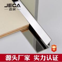 304不锈钢装饰线t型条背景墙地板瓷砖金属扣条压条收边条