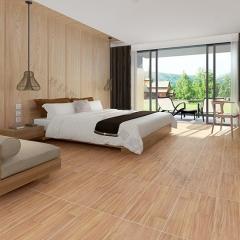 佛山瓷砖 600*600哑光木纹砖 客厅卧室书房防滑地面砖 木纹仿古砖