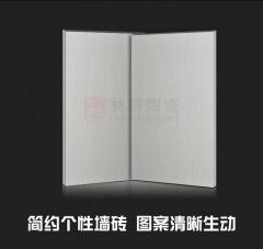 条纹釉面砖 亮光面400*800内墙砖不透水瓷片 厨卫背景墙客厅卧室
