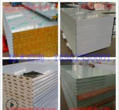 净化板 岩棉 彩钢板 硅岩板 硫氧镁 机制板 手工板 防火库板
