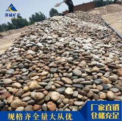 现货鹅卵石批发河卵石园林公园铺路庭院别墅造景鹅卵石杂色石头