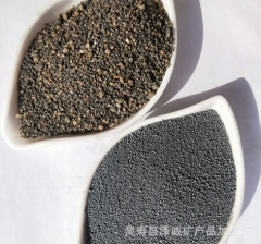 厂家供应运动器材配重用铁砂 混凝土配重砂 喷砂除锈铁砂 铁粉