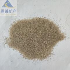 厂家直供彩色圆粒砂 圆粒石英砂 烧结砂 石英石水槽专用砂