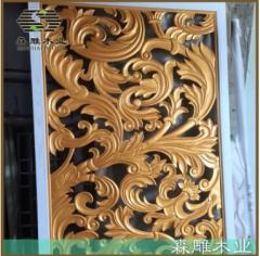 专业生产定制 实木雕刻屏风花格 实木镂空屏风花格 中式屏风定做