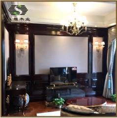 深圳护墙板批发定制 室内家装中式时尚护墙板 佛山高档潮流护墙板
