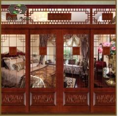 批发供应 特价实木门批发 中式推拉实木门 室内卧室木门